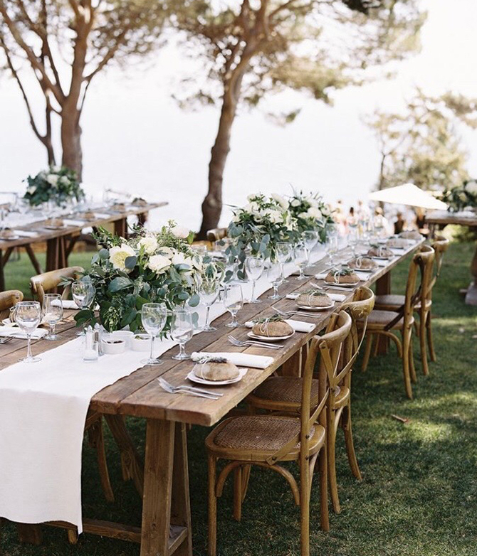 Wedding Furniture Hire - table and chairs - off the rails designs