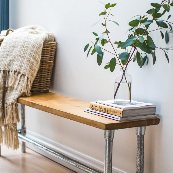 Old Pine Bench | Rustic Bench